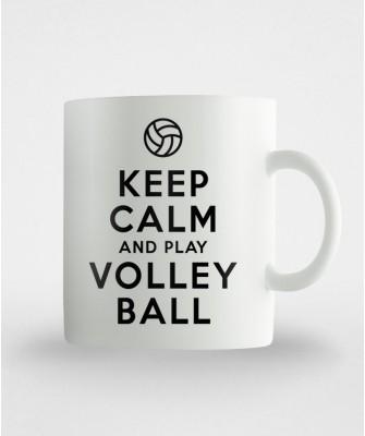 Kubek Keep calm and play volleyball