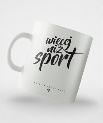 Kubek Więcej niż sport